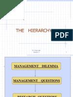 The Hierarchy 3