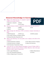 General Knowledge Model Question Paper Download PDF
