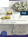 Paul Dumouchel the Ambivalence of Scarcity and Other Essays