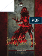 Legendary Villains - Vigilantes