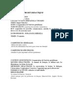 Projet Didactique Clasa a 7 A