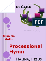 MASS - Misa de Gallo 122017