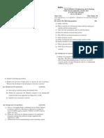 SA-1 Sessional Paper