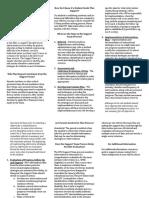 support team process - parent brochure