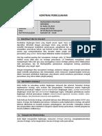 Kontrak Perkuliahan-manajemen Strategi 2018 PNUP