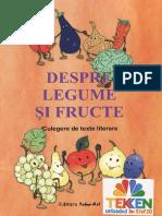 Culegere de Texte literare Despre legume si Fructe Ed.tehno.art TEKKEN
