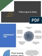 Volkswagen in India Case Solution