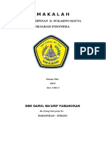 m a k a l a h Kepimpinan Sukarno Hatta