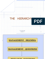 THE      HIERARCHY 3.ppt
