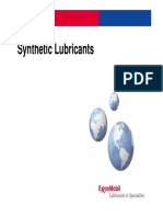 3) Synthetic Lubricants