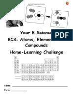 Science y8 c3