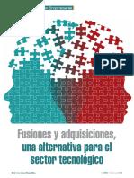 Fusiones y Adquisiciones Una Alternativa Para El Sector Tecnologico