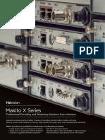 Haivision Makito X Series Datasheet