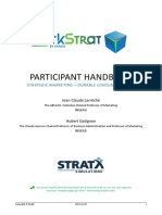 Markstrat Participant Handbook vs 7
