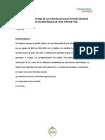 Informe Final Costo Efectividad 2016