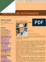 Historia de Intramuros