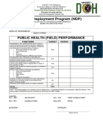 Ndp Performance Evaluation