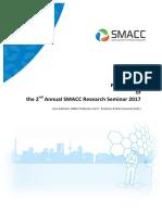 Proceedings of the 2nd Annual SMACC Reserch Seminar 2017