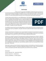 Declaratie Tv8 Jtv Unimedia-1