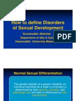 1 - Nusratuddin Abdullah - How to Define Disorder Sexual Development Wide Screen