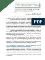 A produção do espaço em época de valorização financeira do capital Entrevista Com Vera Pallamin