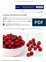 Is Cranberry a Good Choice for Liver Health_ _ LiverSupport