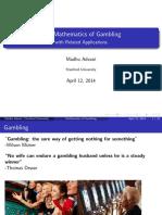 M3665 MathGambing Talk