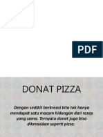 How to Make Donat Pizza
