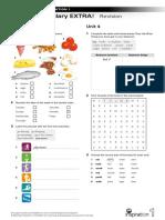 Vocabulary-EXTRA NI 1 Units 3-4 Revision
