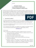 Aviso Abertura Procedimento Concursal Projeto CAFE 2015