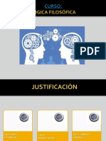 presentación plan LOGICA FILOSOFICA