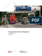 GIZ SUTP TM Transportation Demand Management