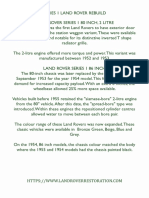 Complete Guide To Rover For A Restoration Project page5