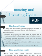 03 Financing and Investing Cycle