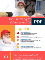 Critical Appraisal of Asharamji Bapu