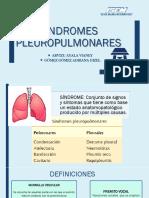 Sindromes Pleuropulmonares AY V