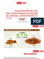 Plant Hydrocolloids Market Forecast, Trend Analysis & Competition Tracking - Global Review 2017 to 2026