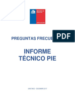 Documento Preguntas Frecuentes IT PIE 2017 18