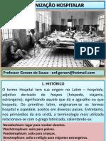 ORGANIZAÇÃO HOSPITALAR