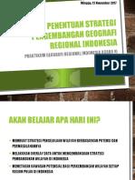 Strategi Pengembangan Geografi Regional Indonesia prak GRI