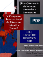 Livro de Resumos v Congresso de Literatura Infantil e Juvenil