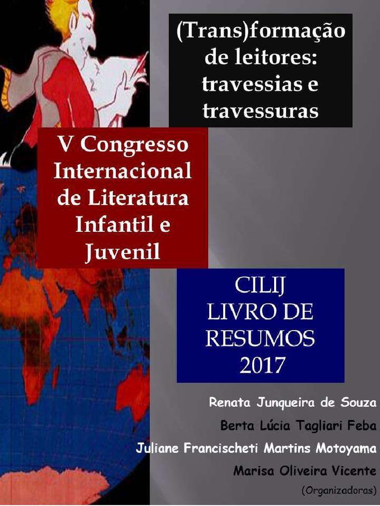 d0fe1399432 Livro de Resumos v Congresso de Literatura Infantil e Juvenil