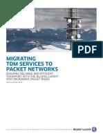 10394 Migrating Tdm Services Packet Networks
