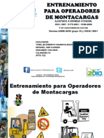 Certificacion de Montacarguistas Rc