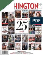 Pat Dixson - In Memoriam 2016 - Washington Life Magazine 25th Anniversary Edition