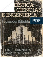 1982. Estadística para ciencias e ingeniería. John B. Kennedy y Adam M. Neville.pdf