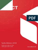 201803 Rct Tarifa Febrero 2018