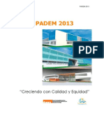 PADEM 2013  V9