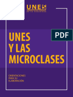 Microclases UNES
