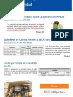 Normatividad de Calidad de Aire - Minería Perú